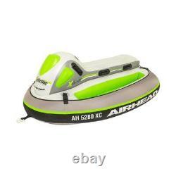 Sportsstuff Xcelerator 2 Person Inflatable Water Lake Ocean Towable Ride On Tube