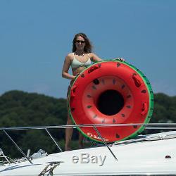 Swimline Gonflable Unique Pastèque D'eau Du Lac Towable Tube Flotteur (2 Pack)