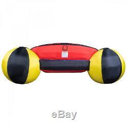 Tractable Raft 3 Personne Float Sports Nautiques Bateau Intérieur Tube Corde Gonflable Tubes