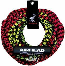 Tube Corde De Remorquage De 2 Rider 60ft Deux Section Float Tube Sports Nautiques Tractable Airhead