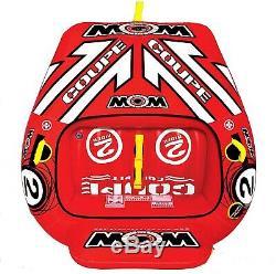 Tube De Cockpit Tractable Ski Nautique 2 Personne Coupe Bateau Gonflable Eau Sport Piscine