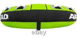 Tube De Remorquage Gonflable 3 Personnes Bateau Raft Water Sports Tubing Nautique Nouveau