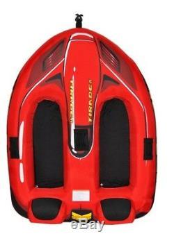 Tube De Ski Tractable Tractable Pour Bateau Nautique Rade Sports 02371 Tirade II Avec Garantie