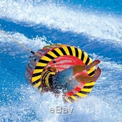 Tube Gonflable Tractable En Forme De Balle Radeau Tubing Sports De Plein Air Bateau De Ski