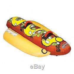 Tube Remorquable 53-3055 De L'eau De Lac De Bateau Gonflable De Hot-dog De Sportsstuff 2