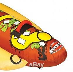 Tube Remorquable 53-3060 De L'eau De Lac De Bateau Gonflable De Hot-dog De Sportsstuff 3 Personnes