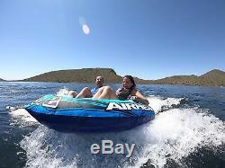 Tube Remorquable De Personne D'airhead Canotant Les Sports Aquatiques Résistants De Lac Gonflable
