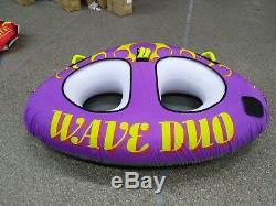 Tube Tractable Gonflable Wave Du Tube D'eau Pour Bateau, Jet Ski, Tube De Ski, Tube
