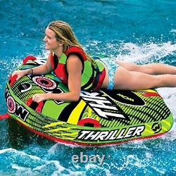 Tube Water Towable Watersports Thriller Deck Inflatable Boat Wild Wake 1 Rider