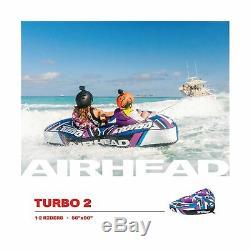 Turbo Tube Tractable Airhead Poignées Rembourrées 1 3 Rider Outdoor Navigation Eau Ahtb12