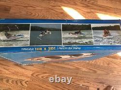 Vieux Sevyor Ski Bob Wh30 Sled Bateau Remorqué Tube D'eau Jet Ski Deux Personnes Sled