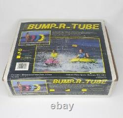 Vtg Rare Sentinel Sports Nautiques Bump-r-tube Gonflable Tube De Bateau De Ski Remorquable