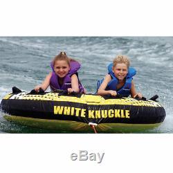 White Knuckle Skimmer 70 Pouces 2 Personne Tractable Remorqués Bâteau Tube Intérieur