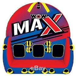 Wow 1 Tube De Remorquage Gonflable Max Pour 2 Ou 3 Personnes