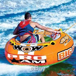 Wow 15-1130 Big Boy Racing Tube D'eau Remorquable 1-4 Personne Bateau Gonflable Jouet Nouveau