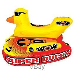 Wow Big Ducky 3 Personnes Bateau Gonflable En Radeau Gonflable Pour Bateau Remorquable À La Vitesse