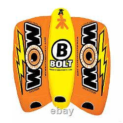 Wow Bolt 1, 2, 3 Ou 4 Personne Gonfleable Tube Bateau Flotte De Radeau D'eau De Bateau