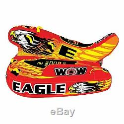 Wow Eagle 3 Personnes Salon Gonflable Tractable, Ski Nautique 17-1040 Wow Sports