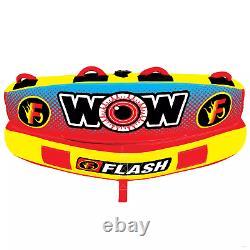 Wow Flash 1 Ou 2 Personne Gonflable Tube Bateau Bateau Raft Float Fast Navigation