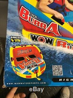 Wow Sport Big Bubba Salut Vis 2 Personne Tractable Eau Tube Pour La Piscine Et Le Lac