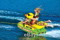 Wow Sport Big Ducky 3 Personne Tractable Eau Tube Pour La Piscine Et Le Lac (18-1140)