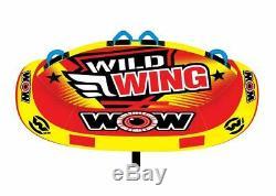 Wow Sport Wild Wing 2 Personne Tractable Eau Tube Pour La Piscine Et Le Lac (18-1120)