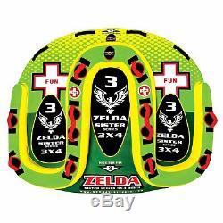 Wow Sport Zelda 1-3 Personne Tractable Eau Tube Pour La Piscine Et Le Lac (15-1070)