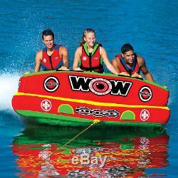 Wow Sports Bingo 1-3 Personnes Tube D'eau Tractable Pour Piscine Et Lac (14-1070)