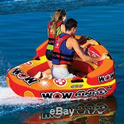 Wow Sports Bingo - Tube D'eau Tractable Pour 2 Personnes, Piscine Et Lac (14-1060)