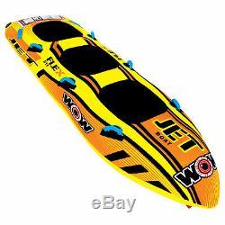 Wow Sports Jet Boat 3 Tubes D'eau Tractables Pour Piscine Et Lac (17-1030)