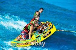 Wow Sports Macho 2 Personnes Tuyau D'eau De Remorquage Pour Piscine Et Lac (16-1010)