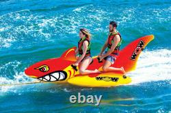 Wow Sports Nautiques Big Shark Towable 2 Personnes 20-1040 Tubing Nautique Sports Nautiques