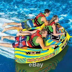 Wow Sports - Tube D'eau Tractable Pour 1 À 1 Personne, Piscine Et Lac (16-1030)