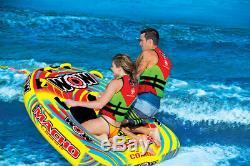 Wow Sports - Tube D'eau Tractable Pour 2 Personnes, Piscine Et Lac (16-1010)