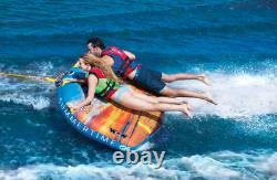 Wow Summertime Soft Top 1-2 Personne Bateau Gonflable Towable Tube Water Raft Float