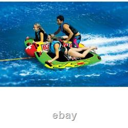 Wow Towable Pour 1 Rider 4 Riders Water Sports Tubing Multi Functional Deck Tube