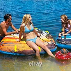 Wow Watersports Ultra Soft Top, Deck Tube Water Towable Tube, Summertime 2p
