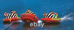 Wow World Of Watersports Cyclone Spinner, 1-2 Person Towable Water Tube, 20-1070