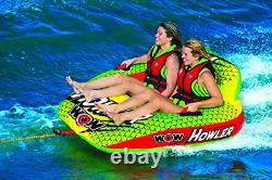 Wow World Of Watersports Howler 2-person Towable Water Tube, 20-1030
