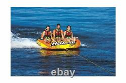 Wow World Of Watersports Howler 3-person Towable Water Tube, 20-1050