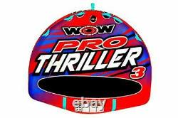 Wow World Of Watersports Super Thriller Towable Water Tube, 3-person Towable